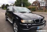 BMW X5 3.0d DIESEL M SPORT AUTO 4X4 [FACE-LIFT] 2003 [53] BLACK for Sale
